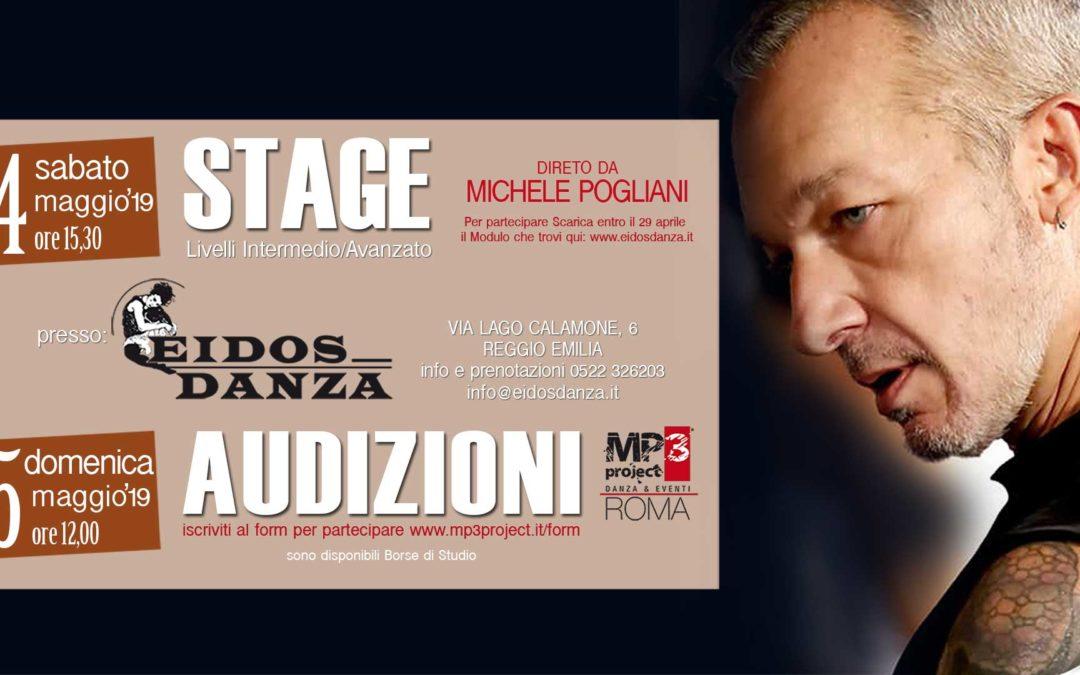 Stage e Audizione con Michele Pogliani – 4 e 5 Maggio