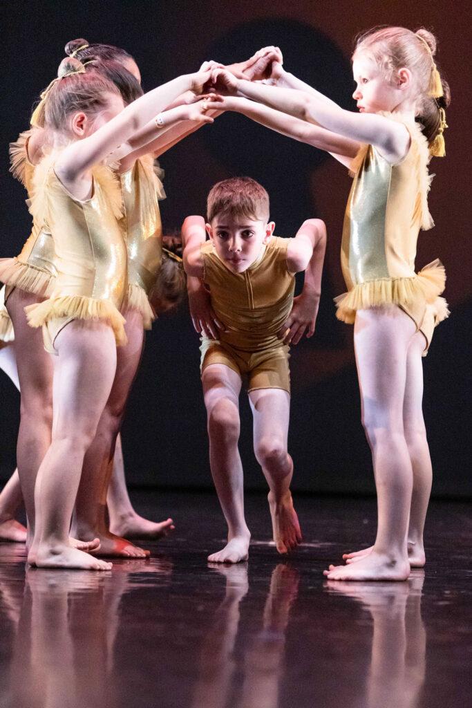 danza moderna nei bambini