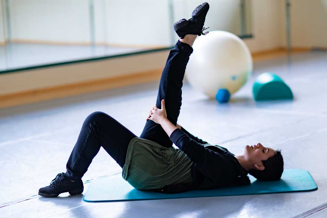stretching dinamico